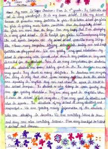 My School Speech Essay by The Fabindia School
