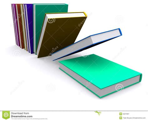 the of falling books 3d books falling stock image image 5221661