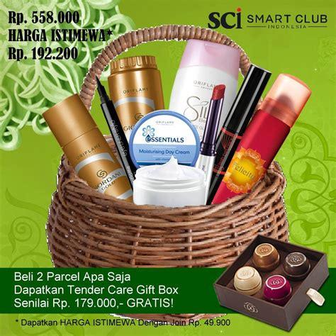 Minyak Wangi Oriflame paket lebaran oriflame 2 paket free tender care gift box crhistinyulianti