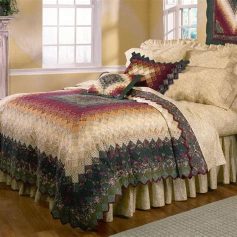 Country Home Decor Catalogs Spice Trip Around The World Quilt