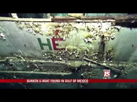 german u boat found in canada sunken nazi boat found near gulf coast youtube