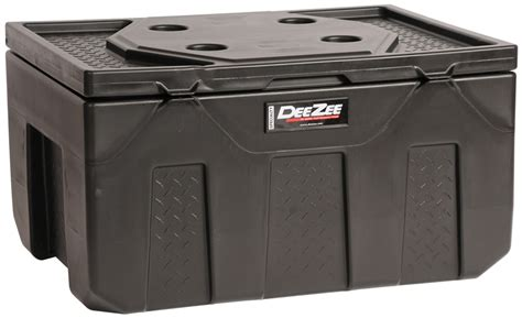 4 ft plastic storage containers deezee specialty series storage box chest style poly
