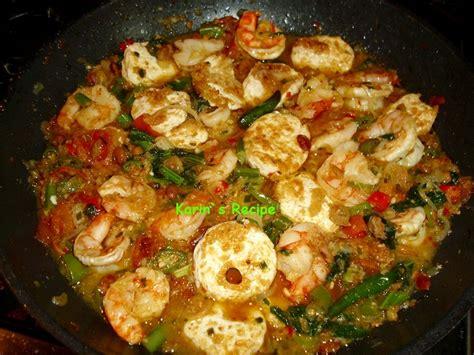 Udang Tauco udang tahu masak tauco food and drink
