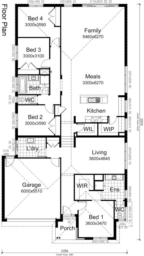 sloped lot floor plans 100 sloped lot floor plans mascord house plan 1329