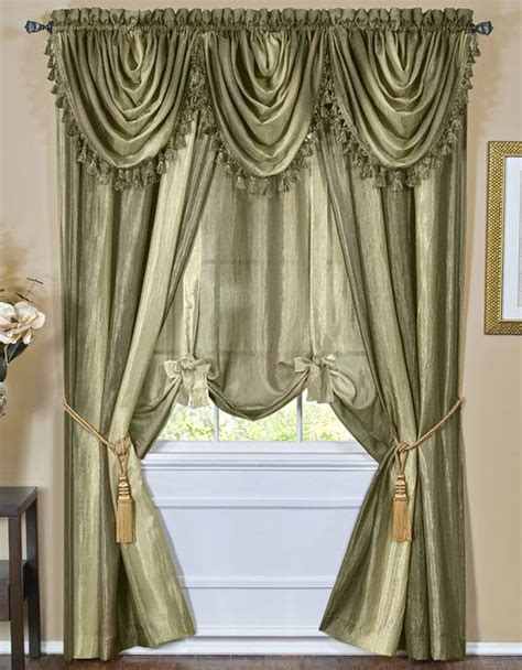 ombre sheer curtains ombre window treatments sage achim contemporary
