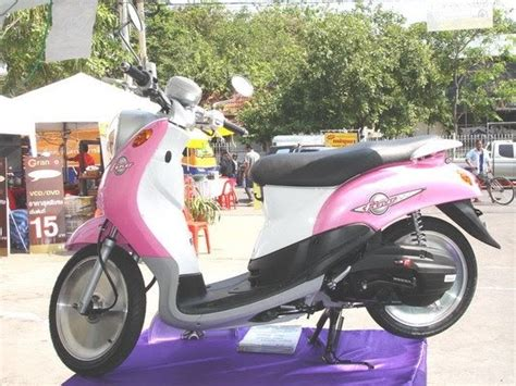 gambar foto contest modifikasi motor new of yamaha fino modification contest picture in bangkok