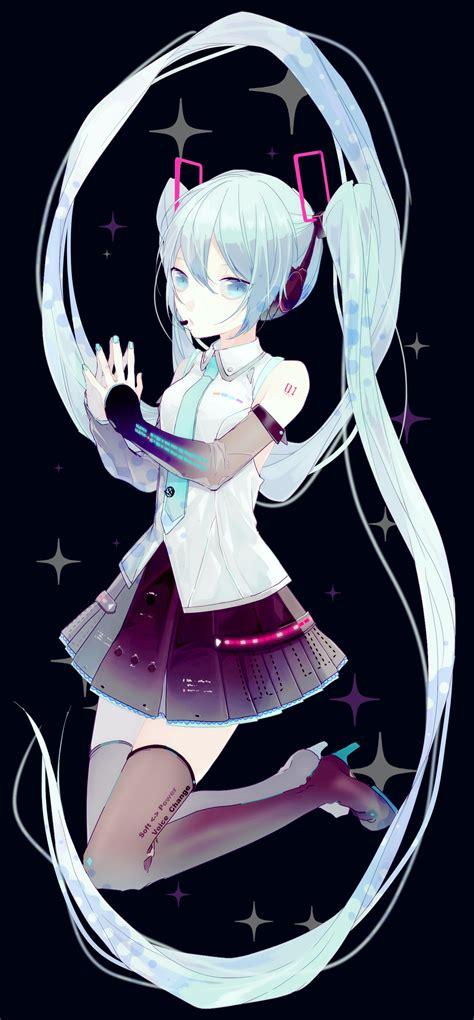 Anime Kaos Hoodie Miku hatsune miku 2044522 zerochan