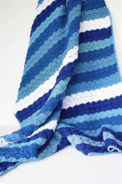 small ocean waves crochet blanket in beautiful blues 44 best crochet ocean afghan ideas images on pinterest
