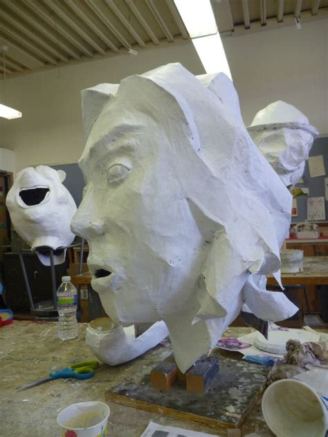 How To Make Large Paper Mache Animals - 17 best images about papier mache masks on