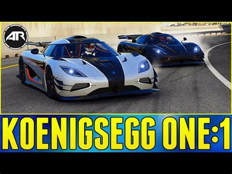 koenigsegg one 1 top speed forza 6 online koenigsegg one 1 stock top speed drift