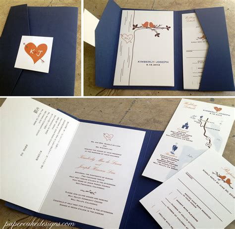 Wedding Invitations Diy by Diy Print Assemble Wedding Invitations Papercake Designs