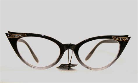 60s fashion glasses new retro 50 s 60 s style cateye rockabilly geek glasses