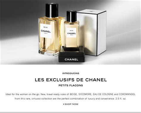 A Fragrance Fit For A by Perfume Shrine Chanel Les Exclusifs Size Small For Fit