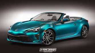 Toyota Convertible Models How Would The 2017 Toyota Gt 86 Look As A Convertible