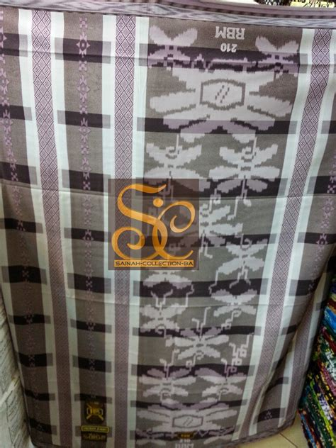 Sarung Tenun Exclusive samarinda sarung rbm exclusive new motif distributor