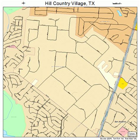 texas map hill country hill country texas map 4833968