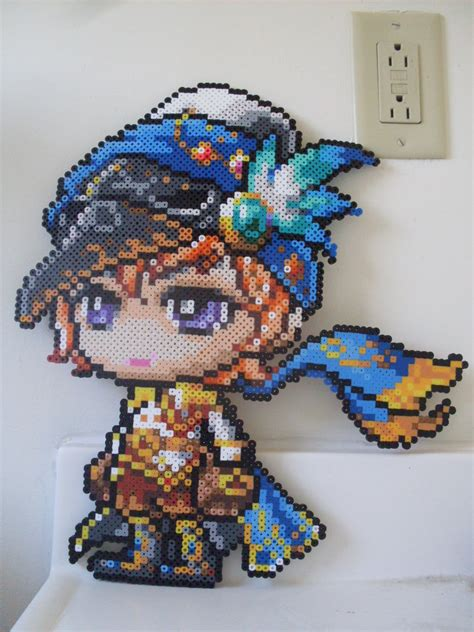 perler bead perler sprite stitch part 2