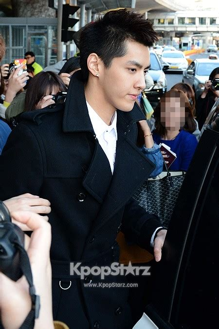 film chris exo exo m kris confident leader at gimpo airport from beijing