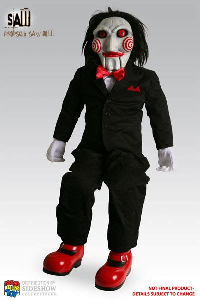 download film jigsaw full jigsaw puppet prop replica medicom toy