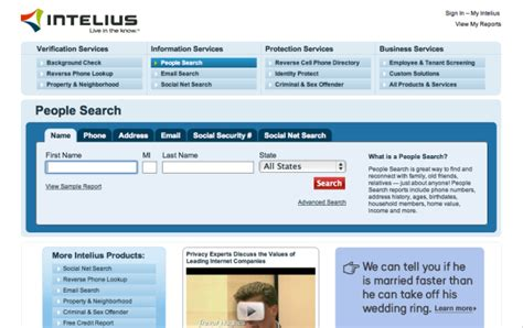 Intelius Search Membership Intelius Crunchbase