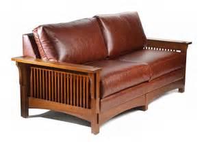 Stickley Loveseat Mission Series Prairie Style Sofa Aci9601