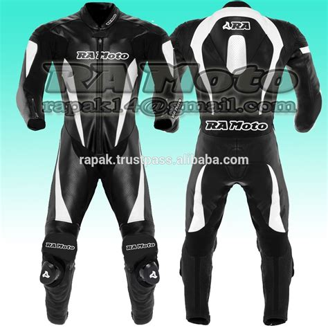 traje de cuero cuero traje de moto de cuero de la motocicleta de