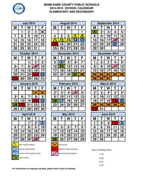 Broward County School Calendar 2014 15 Day Of School Day Of School 2015 Dade County