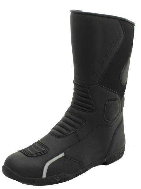 high end motorcycle boots rjays tour am 2 black motorcycle boots
