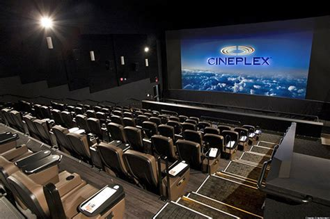 cineplex film toronto getting 4d cinemas with snow moving chairs