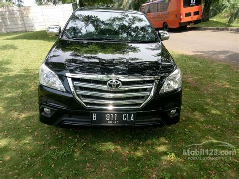 2015 Toyota Kijang Innova 2 5 jual mobil toyota kijang innova 2015 g 2 5 di banten