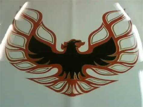 Firebird Aufkleber Motorhaube by About Go Werbeagentur In Heidelberg Motorhaube Firebird