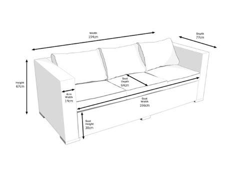 sofa size 3 seat sofa size standard 3 seater sofa size inspiration