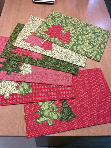 sewing pattern for quilted placemats the 25 best christmas placemats ideas on pinterest