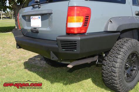 trail ready jeep grand wj rear bumper