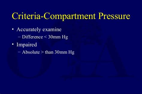 three compartment rules compartment syndrome