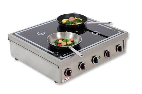 induction cooking rings berner bi4ktt14 4 ring countertop induction hob system 60 20
