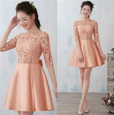 Dress Model Baru jual baru dress pesta wanita terbaru dress lengan pesta