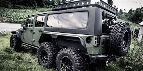 Jeep G G Patton Tomahawk 6x6 Jeep Wrangler Unveiled In China