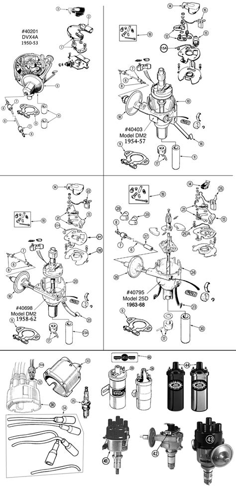 unilite distributor parts diagram unilite free engine