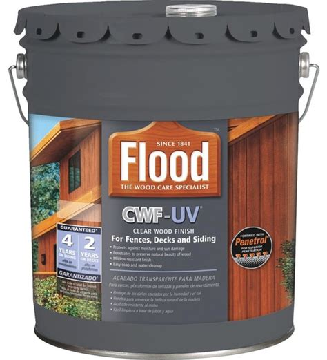floodppg clear wood finish uv cedar  fld