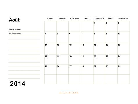 Calendrier Excel 2014 Calendrier 2014 Excel Search Results Calendar 2015