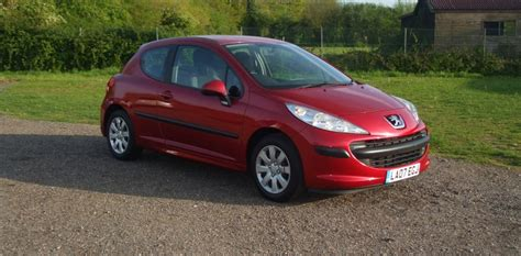 peugeot 207 red peugeot 207 1 4 hdi 07 reg sold ymark vehicle services