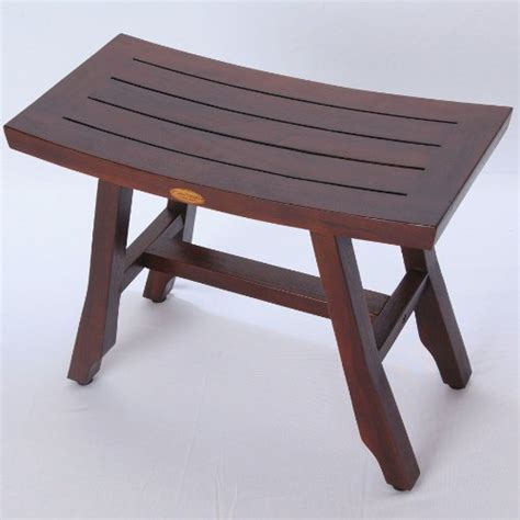 extended shower bench decoteak fully assembled satori asia style teak shower