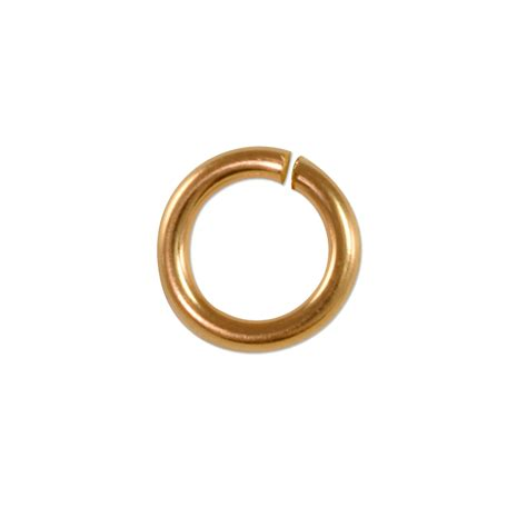 jewelry jump rings twist and lock jump ring 8mm gold filled jewelry