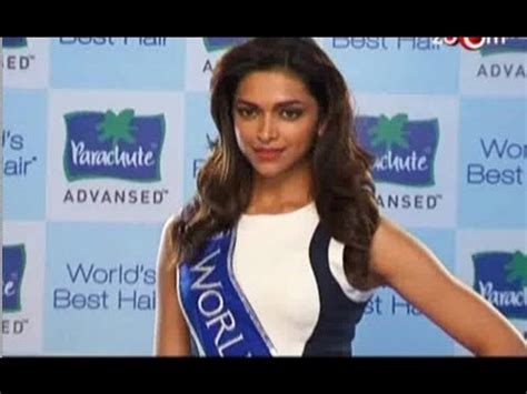 deepika padukone receives world s best hair sash youtube