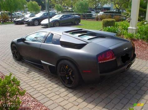 Lamborghini Murcielago Matte Black 2009 Nero Nemesis Matte Black Lamborghini Murcielago