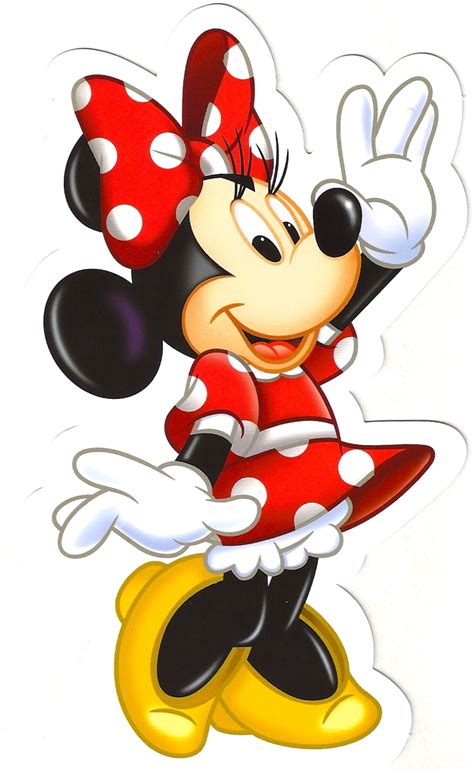 Minnie Mouse by Favorite Disney Postcards Minnie Mouse Shaped Postcard