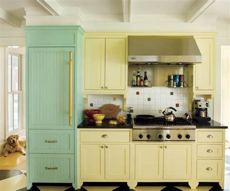 1920s Cabinet Farmhouse Kitchen Color Of The Month May 2014 Hemlock