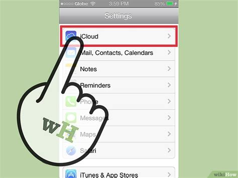 step membuat icloud cara mencadangkan iphone ke icloud wikihow