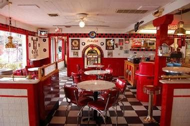 from empty store to 50s diner artist wants to